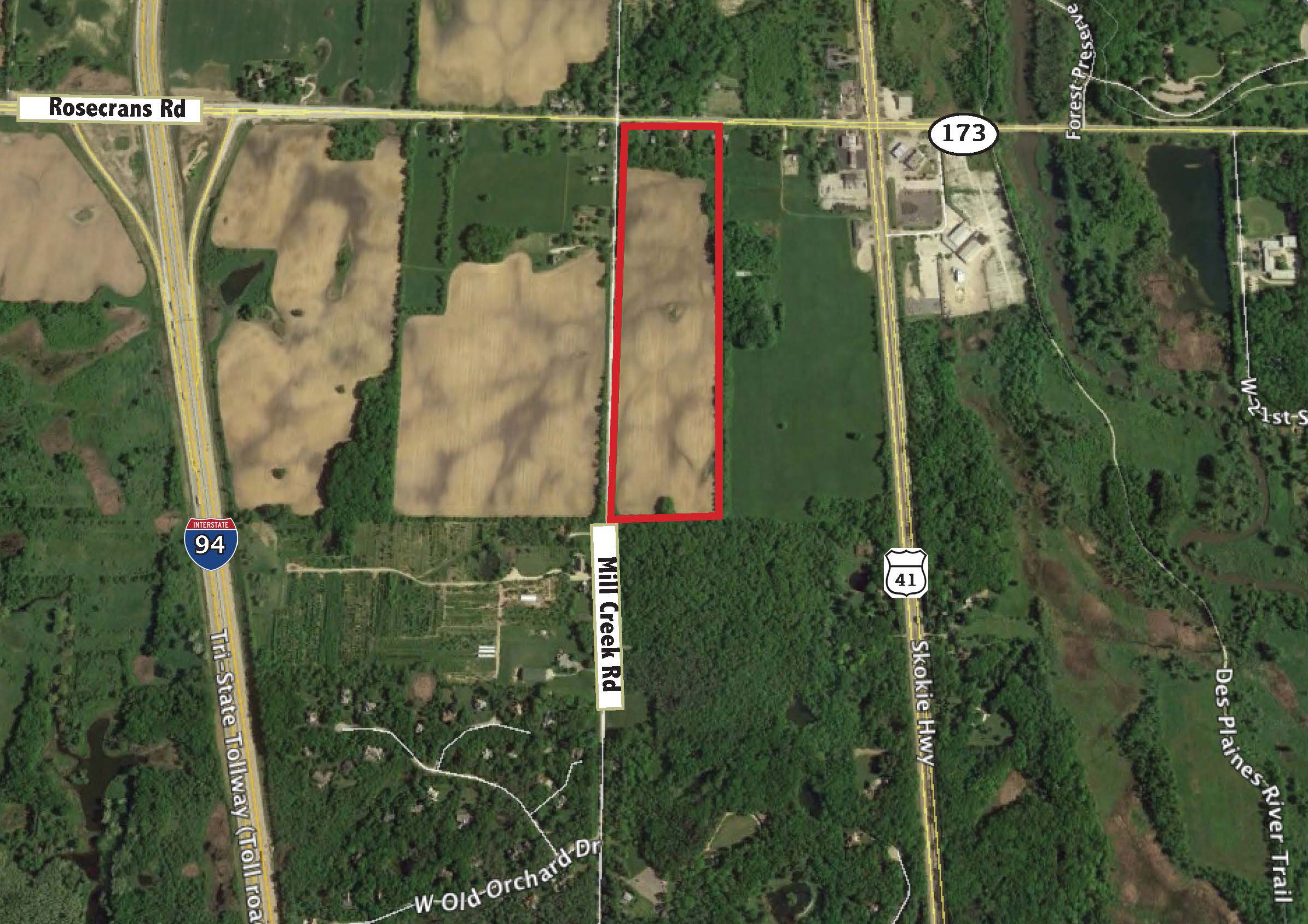 40 Acres Divisible  I  Wadsworth, IL