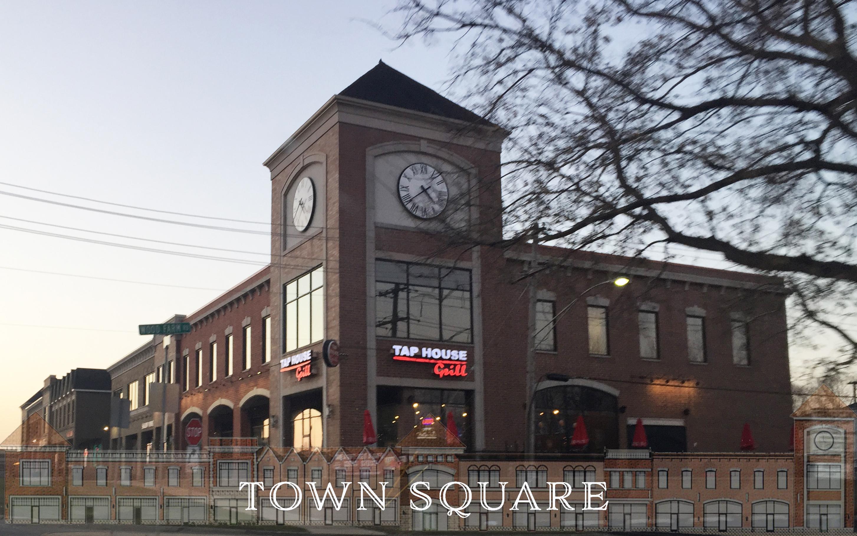 Town Square  I  Downtown Plainfield, IL