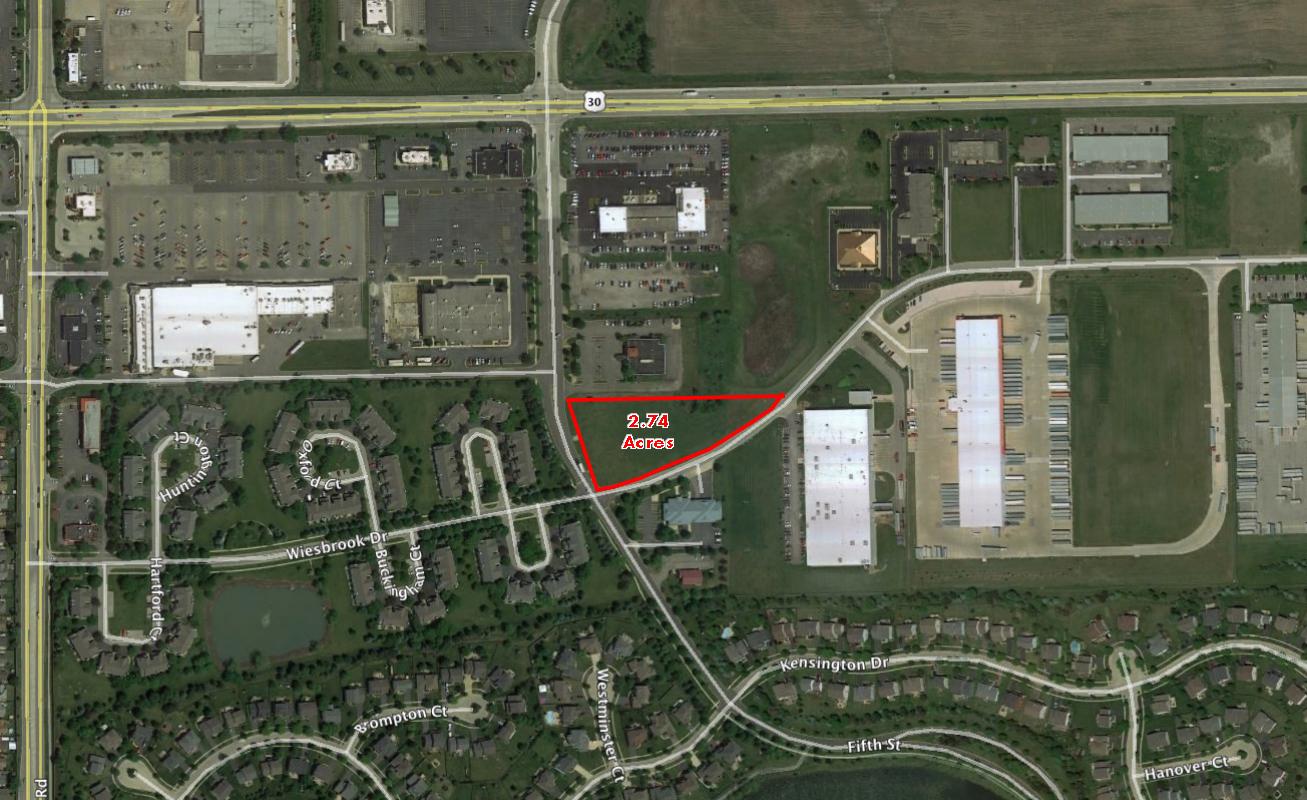 2.74 Acres  I  NEC of 5th & Weisbrook  I  Oswego, IL