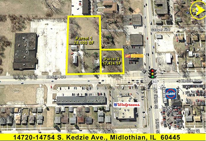 14750-54 S Kedzie Avenue   I    Midlothian, IL