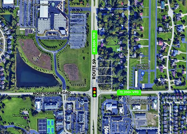 NEC Route 59 & Montgomery Road   I   Naperville, IL